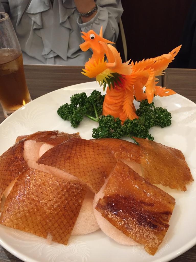 歓迎会料理(北京ダック)